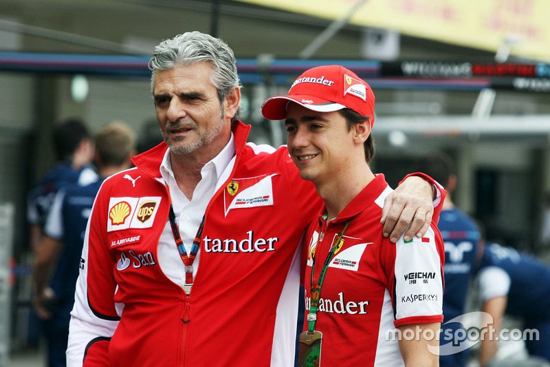 Мауріціо Аррівабене, Керівник Scuderia Ferrari з Естебан Гутьєррес, Ferrari Тестовий та резервний го