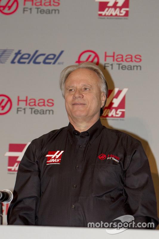 Gene Haas, fondateur de Haas F1 Team
