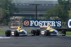Riccardo Patrese et Nigel Mansell, Williams