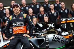 Серхио Перес, Sahara Force India F1 - командное фото