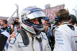 Le troisième Valtteri Bottas, Williams F1 Team