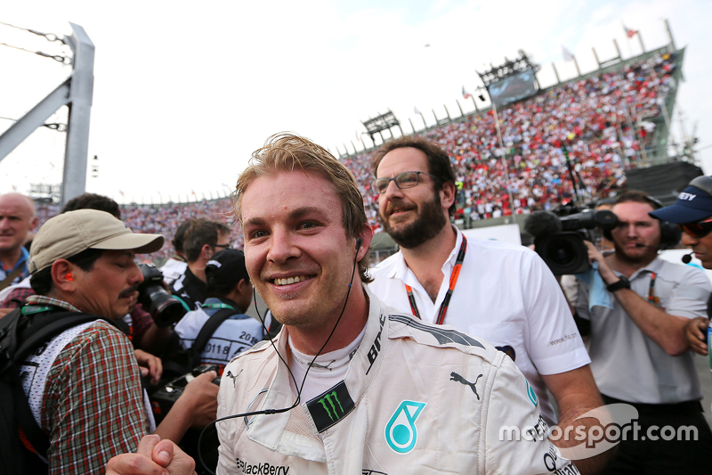 Race winner Nico Rosberg, Mercedes AMG F1 Team