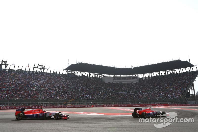 Will Stevens, Manor F1 Team, und Alexander Rossi, Manor F1 Team