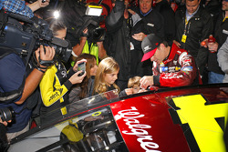 Winner Jeff Gordon, Hendrick Motorsports Chevrolet