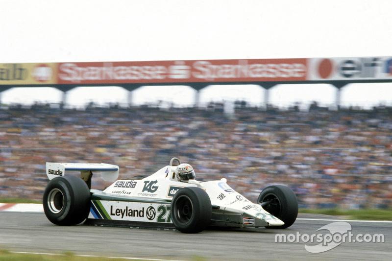 Alan Jones: campeón en 1980, 12 victorias