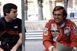Alan Jones y Carlos Reutemann, Williams