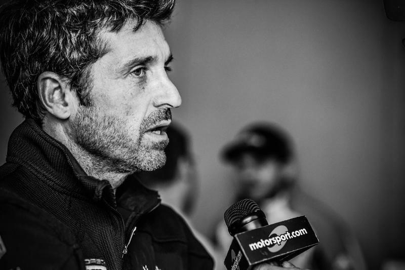 Патрік Демпсі говорить до Motorsport TV