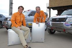 Team Fleetboard Dakar Leipzig presentation: Ellen Lohr and Stephan Schott