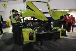 Krohn Racing team members at work