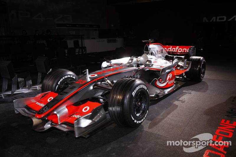 2008: McLaren-Mercedes MP4-23