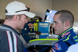 Dale Earnhardt Jr. and Casey Mears