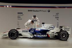 Robert Kubica und Nick Heidfeld mit dem BMW-Sauber F1.08