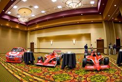 Chip Ganassi Racing with Felix Sabates: Dodge NASCAR Sprint Cup car and IRL IndyCar Series cars