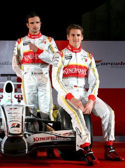 Vitantonio Liuzzi and Adrian Sutil