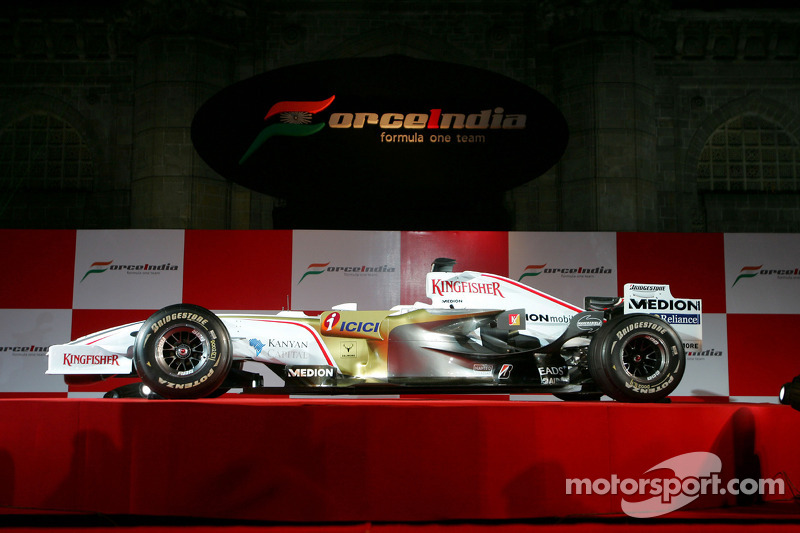 El Force India VJM01
