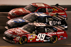 Carl Edwards, Ryan Newman and Kasey Kahne