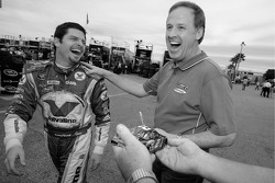 Patrick Carpentier and Rusty Wallace