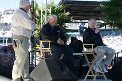 Fan forum with NASCAR legends Junior Johnson and Buddy Baker