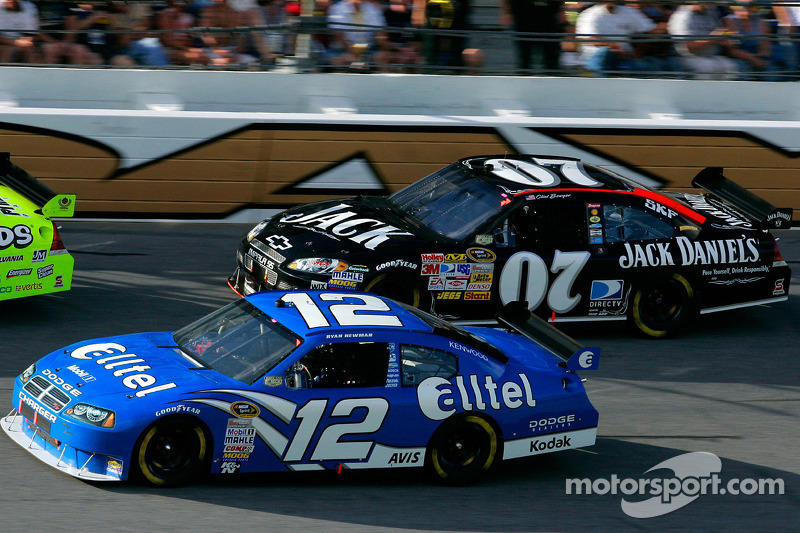 Ryan Newman et Clint Bowyer