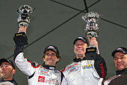 Alain Prost and Olivier Panis winners