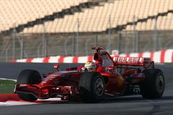 Luca Badoer, Test Driver, Scuderia Ferrari, F2008