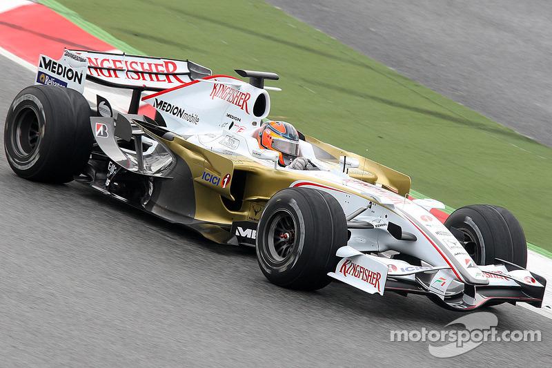 2008: Force India F1 VJM01