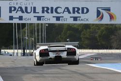 #55 IPB Spartak Racing Lamborghini Murcielago R-GT: Peter Kox, Roman Rusinov