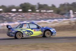 Chris Atkinson y Stéphane Prévot, Subaru World Rally Team, Subaru Impreza WRC2007