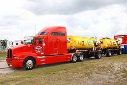 Refuel truck