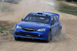 Markku Martin tests the 2008 Subaru Impreza