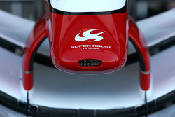 Super Agur front wing detail