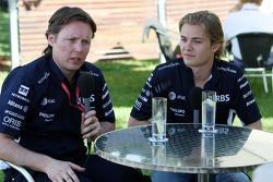 Sam Michael, WilliamsF1 Team, Technical director, Nico Rosberg, WilliamsF1 Team