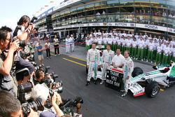 Honda team picture