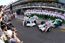 Honda team pictures
