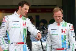 Rubens Barrichello, Honda Racing F1 Team, Alexander Wurz, Test Driver, Honda Racing F1 Team