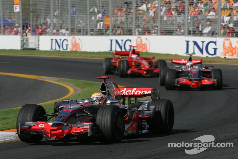 2008 Avustralya GP: Lewis Hamilton, McLaren Mercedes MP4-23