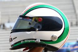 Davide Rigon, driver of A1 Team Italy helmet