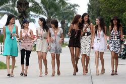 Formula Unas girls photoshoot
