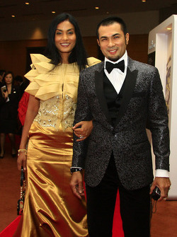 Gala Dinner: Bernard Chandran with wife Mary Lourdes
