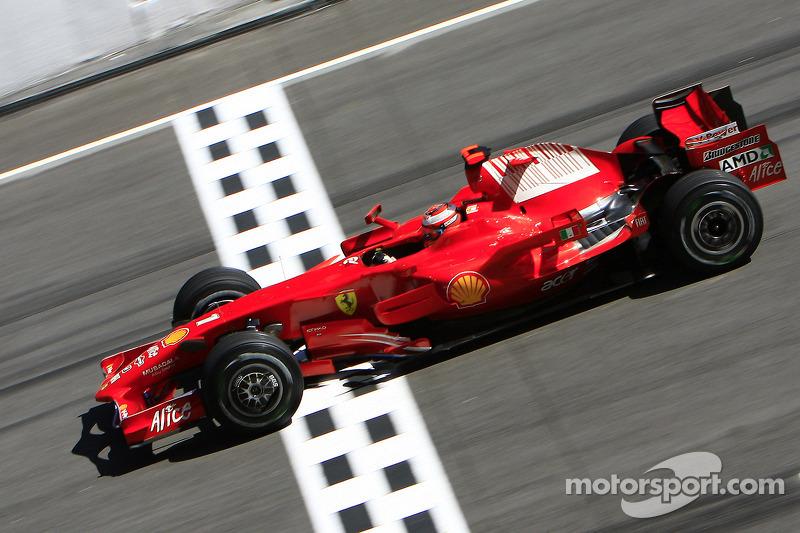 2008 : Kimi Räikkönen, Ferrari F2008