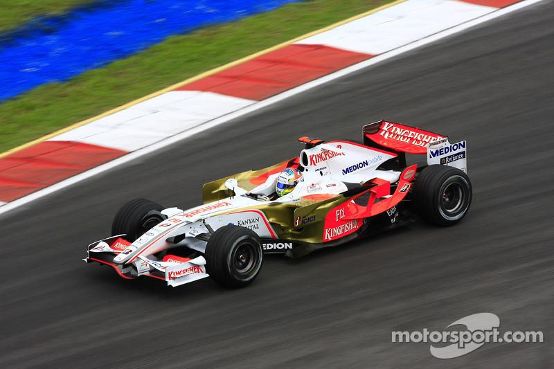 9. Adrian Sutil (128 GPs)