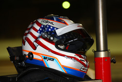 Helmet of Graham Rahal