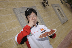Shinya Nakano enjoys the Jerez ambiance
