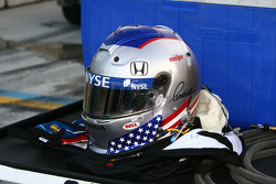 Marco Andretti's helmet and gloves
