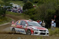 Sebastian Beltran and Ricardo Rojas, Mitsubishi Lancer Evolution IX