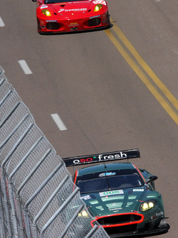 #008 Aston Martin DBR9: Terry Borcheller, Chapman Ducote
