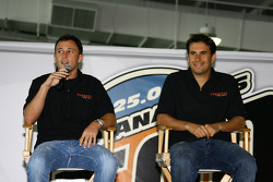 Conquest Racing drivers and Indianapolis 500 rookies Franck Perera and Enrique Bernoldi