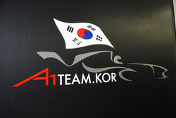 The new A1 Team Korea Logo