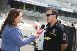 Pepe Montano gives interviews
