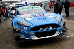 #36 Jetalliance Racing Aston Martin DBR9: Lukas Lichtner-Hoyer, Alex Müller
